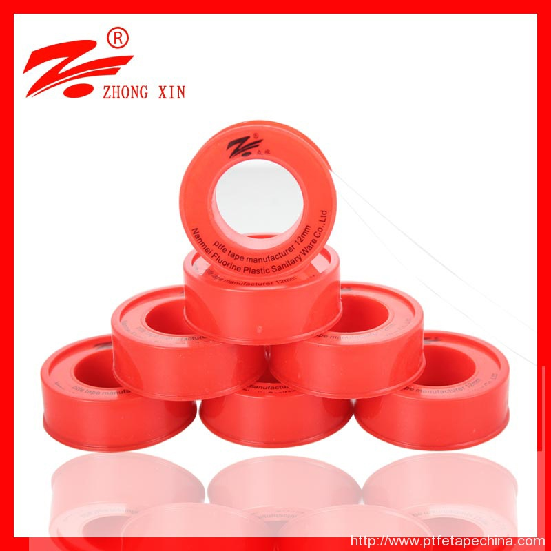 high demand product 1/2 12mm ptfe tape for water