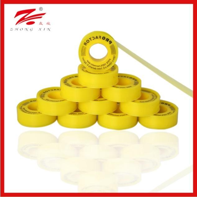 1/2 yellow gas tape high density