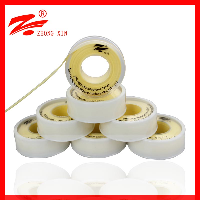 100% hermetic caflon tape 1/2 yellow ptfe tape