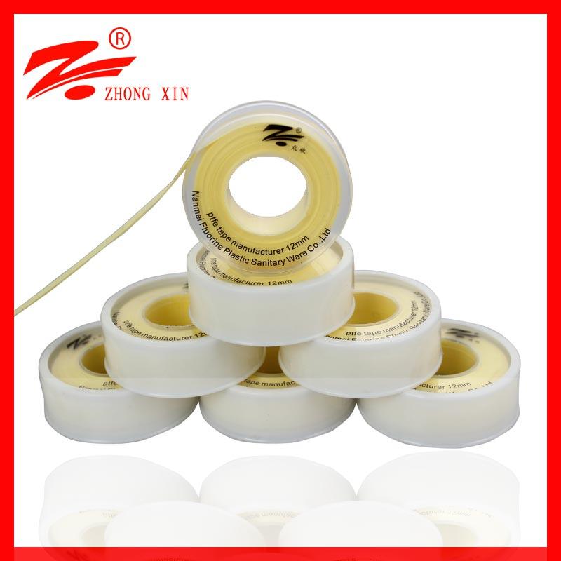 12mm p.t.f.e tape ptfe pipe seals manufacturer in fujian