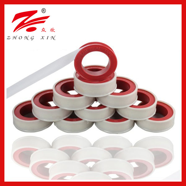 12mmx0.075mmx10mx0.2g/cm3 ptfe bathroom tape, sanitary ware seal tape