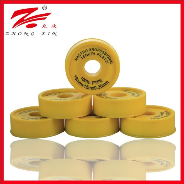 19mm 0.2mm 20m thick ptfe tape high density