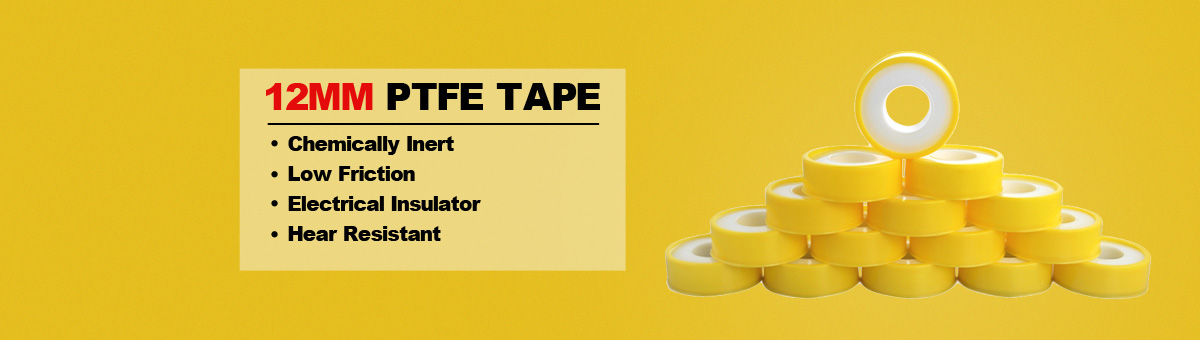 our company is specialized in producing PTFE thread seal tape, Ptfe Tape,1/2'' 12mm Ptfe Tape,3/4'' 19mm Ptfe Tape,1'' 25mm Ptfe Tape,Color Ptfe Tape