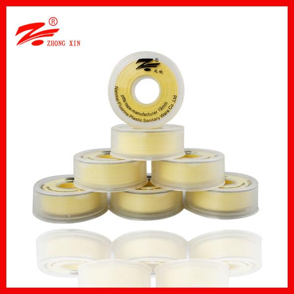 high density yellow ptfe gasoline sealing tape