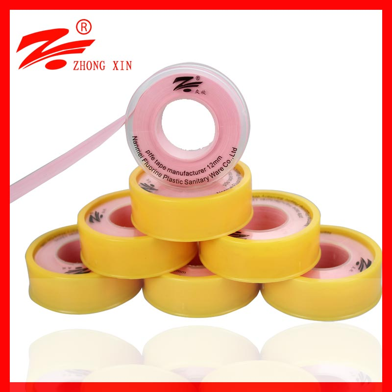 plumbing connectors pink plumbers ptfe tape